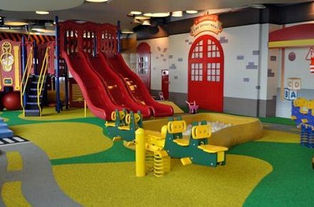 Indoor Playground For Children Entertainment